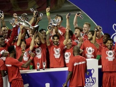 El Antwerp volvió a ser campeón de Copa 28 años después. EFE