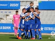El Sabadell se llevó los tres puntos. LaLiga