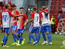 El Sporting se desmelenó ante el Almería. LaLiga