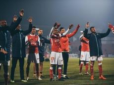 El Braga ganó como visitante. Braga