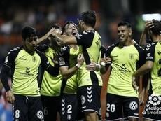 Álex Bermejo, Borja Lasso y Álex Muñoz, lesionados; Aitor Sanz, sancionado. LaLiga