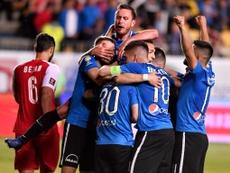 El Viitorul ganó este curso su primera Copa de Rumanía. Twitter/ViitorulFC