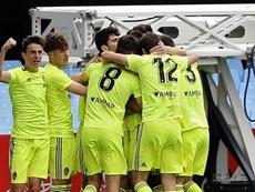 El Zaragoza selló su pase a la final ante el Celta. Twitter/RealZaragoza