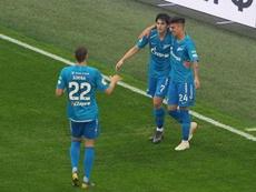 El Zenit se impuso al Ufa. ZenitSPB