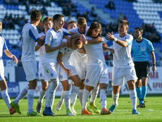 El Dinamo le metió ocho al campeón de Macedonia del Norte. Twitter/DynamoKyiv