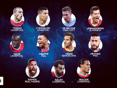 Estos son los once nominados al 'The Best' 2020. BeSoccer