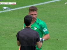 Golazo de Joselu y fallo de Luca Zidane. Captura/MovistarLaLiga