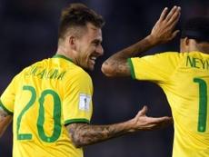 Le Top 4 de Neymar des joueurs qui ne jouent pas la Ligue des Champions. AFP