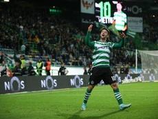 Vietto acerca al Sporting al podio. Twitter/SportingCP
