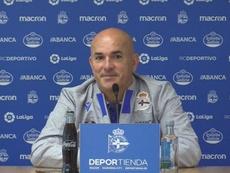 Luis César no ha logrado prácticamente nada en el Deportivo. RCDeportivo