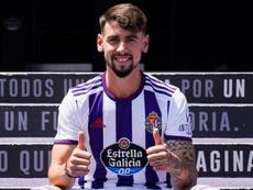 Real Valladolid have signed Pérez. RealValladolid
