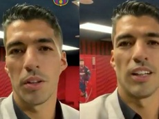 Suárez thinks he will return to Barcelona. Screenshots/FCBarcelona