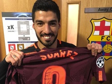 Suárez y Carragher coincidieron dos temporadas y media en el Liverpool. JamieCarragher