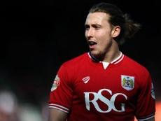 Freenan pictured at Bristol City. BCFC