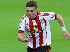 Gooch's late goal secured the win for Sunderland. SAFC
