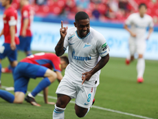 CSKA Moscow have been fined after racially abusing Zenit's Malcom. Twitter/ES_FCZenit