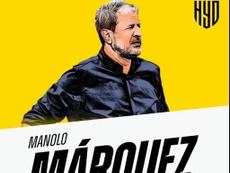 Manolo Márquez toma las riendas del Hyderabad FC. HyderabadFC