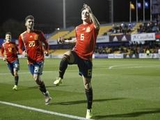 Manu García lamentó perderse el derbi asturiano. SeleccionEspañola