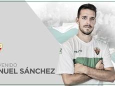 El Elche anunció la llegada del centrocampista. Elche