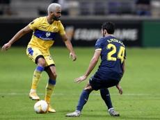 El Villarreal empató 1-1 en Tel Aviv. EFE