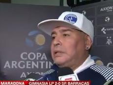 La comparación de Maradona. Captura/ESPN