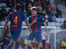 Cardona anotó un doblete. FCBMasia