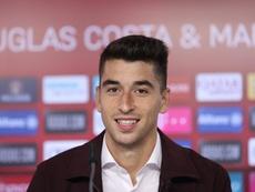 Marc Roca, presentado con el Bayern. FCBayern