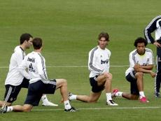 Los mensajes de Ramos cuando suena Mourinho. AFP