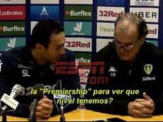 El técnico argentino no entendió el mensaje de su traductor. Captura/ESPN