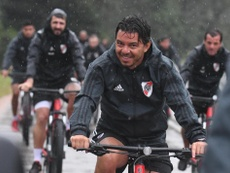 Gallardo dejó la puerta abierta al regreso del 'Pity'. Twitter/CARPoficial