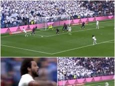 Marcelo scored a brilliant goal. Capturas de CBC