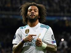 Marcelo a atteint la barre symbolique des 450 matches. AFP