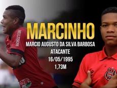 Marcinho puede acabar en Desportivo das Aves. Captura/Sports21