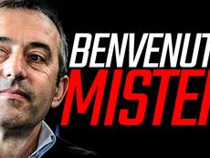 Giampaolo, nuovo allenatore del Milan. ACMilan