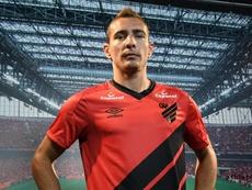 Marco Rubén llega para aportar goles en la Copa Libertadores. Twitter/AthleticoPR