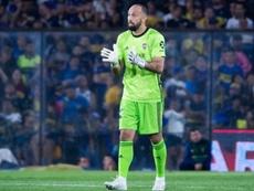 Marcos Díaz estuvo las dos últimas temporadas en Boca. EFE