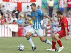 Marcos Llorente debutó de rojiblanco ante el Numancia. Atleti