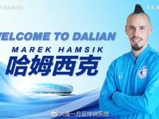 Hamsik, a China. DalianYFC