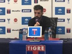 Tigre confirmó la renuncia en redes sociales. Twitter/catigreoficial