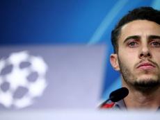 Mario Hermoso valoró el partido contra el Bayer. Twitter/Atleti