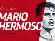 Mario Hermoso has officially signed for Atletico. Twitter/AtleticoEnglish