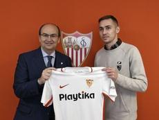 Marko Rog llegó cedido al Sevilla en la recta final del pasado mercado invernal. SevillaFC