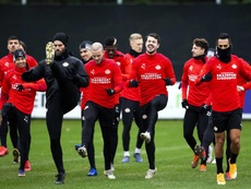 Van Ginkel vuelve a sentirse futbolista. EFE