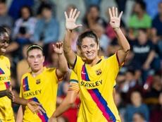 Torrejón le dedicó el gol a su madre... pero el madridismo vio una burla. Twitter/FCBFemeni
