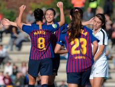 El Barça Femenino es un referente en España. FCBarcelonaFemení