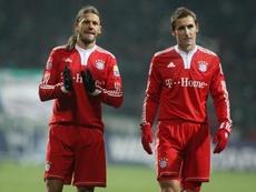 Demichelis y Klose trabajarán con los jóvenes del Bayern de Múnich. Twitter/FCBayernES