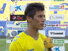 Mantovani compareció ante los medios después de una nueva derrota del equipo. Twitter/UDLP_Oficial