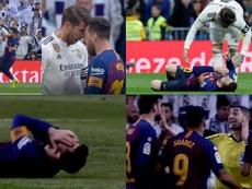 Undiano, après l'accrochage entre Ramos et Messi : 'Il s'est laissé tomber'. Movistar/EFE