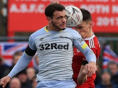 Mason Bennett tem marca inusitada no futebol inglês. AFP