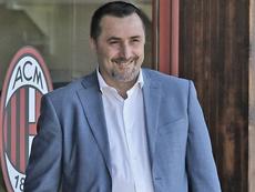 El Milan sigue moviéndose. ACMilan